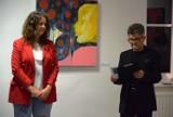 Otwarcie wystawy Magdaleny Bukowskiej w Galerii Sztuki MOK w Dębicy [FOTORELCJA]