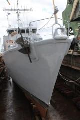Z manewrów wojennych do stoczni. Awaryjny remont francuskiego niszczyciela min