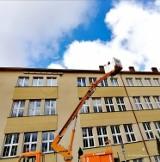 Budki dla jerzyków w Pruszczu już zamontowane. 400 domków gotowych do zasiedlenia