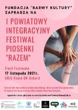 """Konin. Fundacja """"Barwy Kultury"""" zaprasza do udziału w I Powiatowym Integracyjnym festiwalu Piosenki """"Razem"""""""