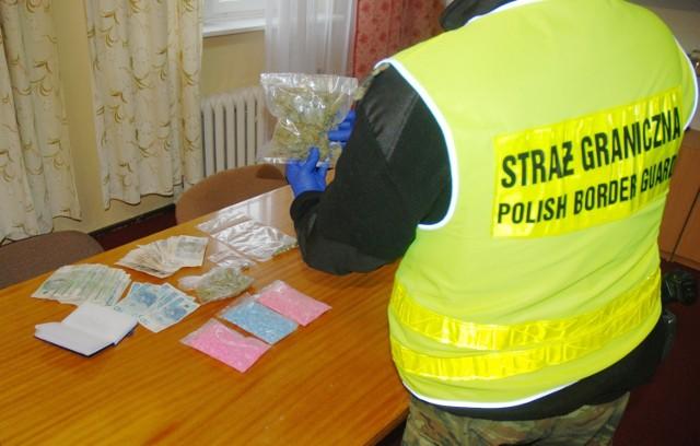 Narkotyki znalezione w trakcie przeszukania