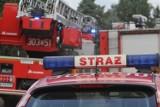 Bydgoszcz. Pożar w Starym Fordonie. Strażacy ewakuowali mężczyznę