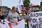 Protest rolników Nowe Miasto nad Wartą. Blokadę DK11 zaplanowano na 48 godzin. Utrudnienia dla kierowców na DK11, policja wyznaczyła objazdy