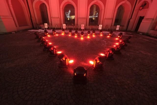 Tradycyjnie zwieńczeniem finału WOŚP było wysłanie Światełka do Nieba.