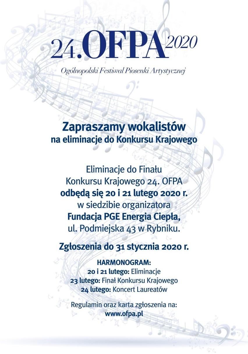 24 OFPA 2020 w Rybniku. Zgłoś się na eliminacje!