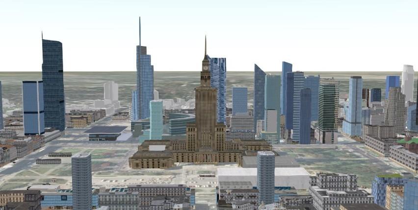 Warszawa przyszłości w 3D. Nietypowy model stolicy z 2025...