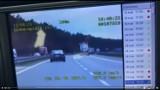 Nowy Tomyśl. Kierowca BMW pędził ponad 200 km/h na autostradzie A2 po zażyciu marihuany