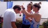 Złoty i srebrny medal Mistrzostw Polski juniorów młodszych w wioślarstwie zdobyli zawodnicy KTW Kalisz. ZDJĘCIA