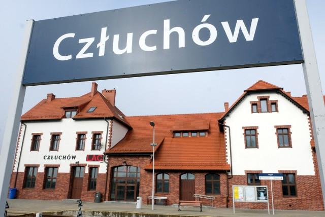 Dworzec PKP w Człuchowie