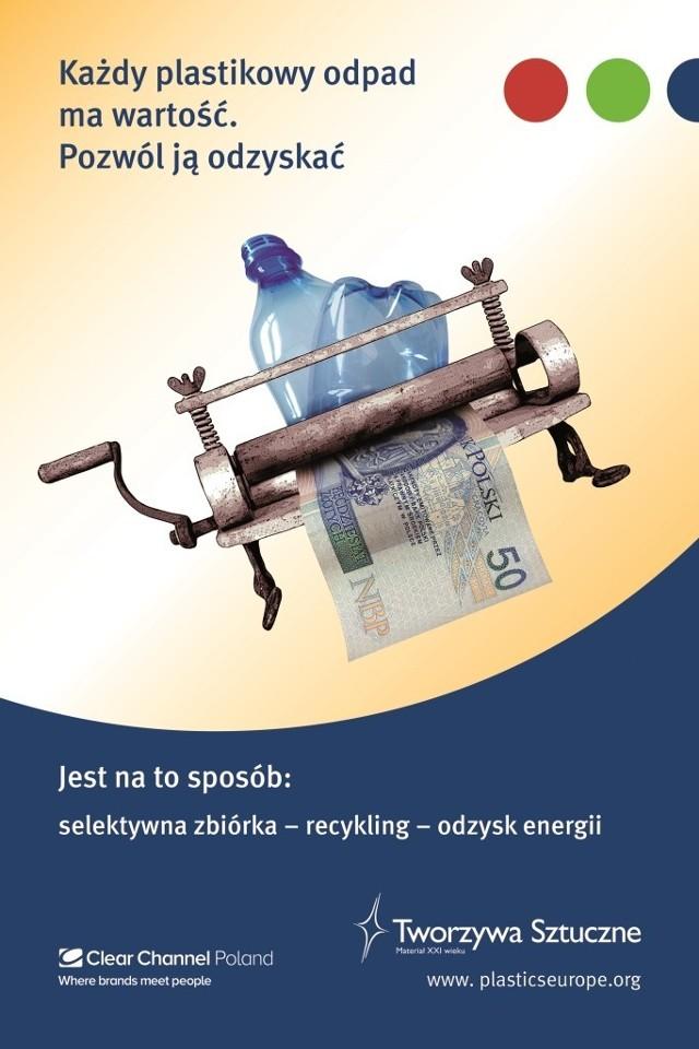 Odpady plastikowe - segreguj!