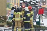 Kalisz: Pożar w szkole podstawowej w Sulisławicach. ZDJĘCIA