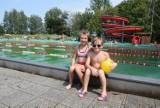 Kąpielisko na Skałce w Świętochłowicach. Prawie 300 osób przyszło na basen w piątek 10 sierpnia ZDJĘCIA