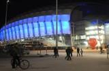 INEA Stadion w Poznaniu w barwach Ukrainy