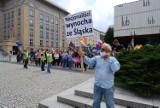 Nacjonaliści w Katowicach prowokowali podczas marszu. Była też kontrmanifestacja