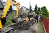 Na ulicy Podgórze w Ostrowcu będzie kanalizacja deszczowa