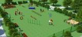 Obejrzyj wizualizacje profesjonalnego wybiegu z placem zabaw dla psów. Powstanie w tym roku na poznańskim Strzeszynie