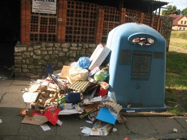 Racibórz w śmieciach