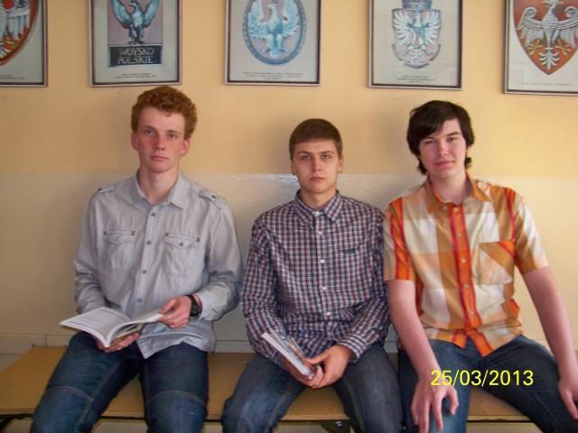 Mateusz, Michał i Robert opowiadają o obchodach wyzwolenia Żor w 1945