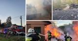 Pożar w Jugowie. 7 zastępów Straży Pożarnej walczyło z żywiołem. [Filmy i zdjęcia]