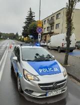 Sieraków. Kolizja dwóch samochodów na ulicy Bolesława Chrobrego w Sierakowie