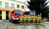Nowe stroje trafiły do strażaków z OSP Damasławek