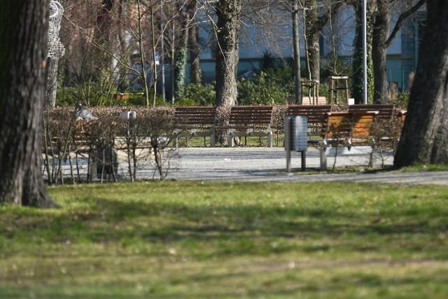 Wiele miejsc w Kostrzynie nie będzie podlewanych, ani koszonych. Wyjątek stanowi m. in. Park Miejski.