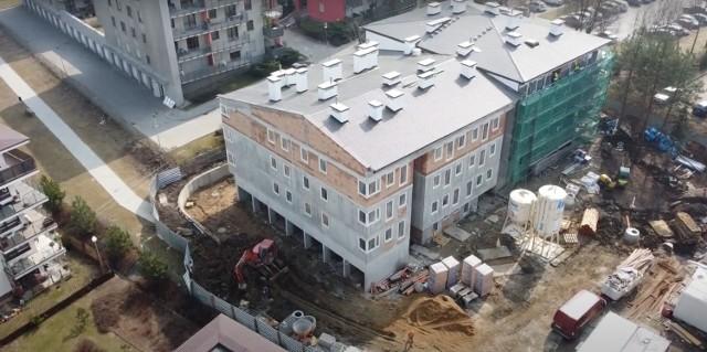 Budowa bloku komunalnego przy ul. Fredry