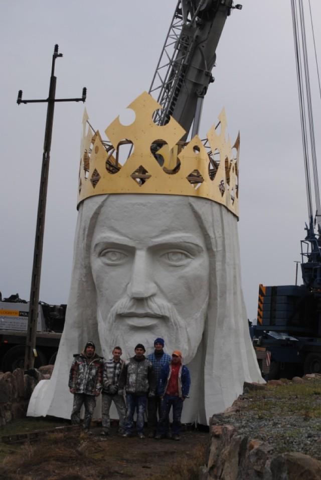 Budowa pomnika Chrystusa Króla w Świebodzinie i jej budowniczy - ks. Sylwester Zawadzki