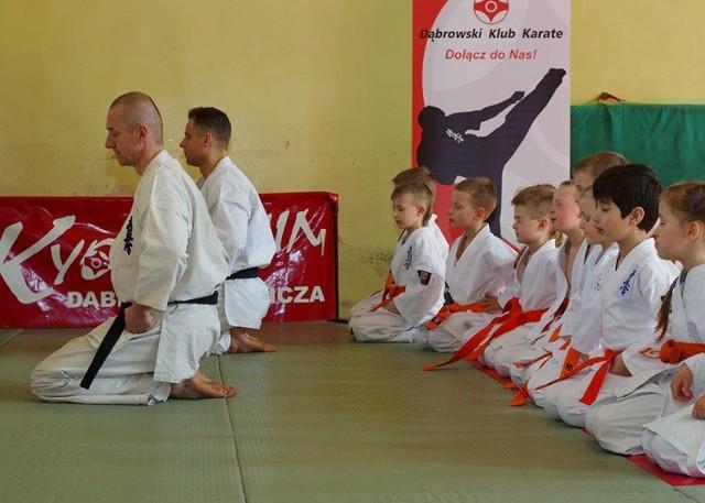Seminarium karate w SP nr 4 w Będzinie
