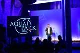 Filip Chajzer poprowadził konferencję poprzedzającą otwarcie nowej atrakcji w redzkim aquaparku [ZDJĘCIA]
