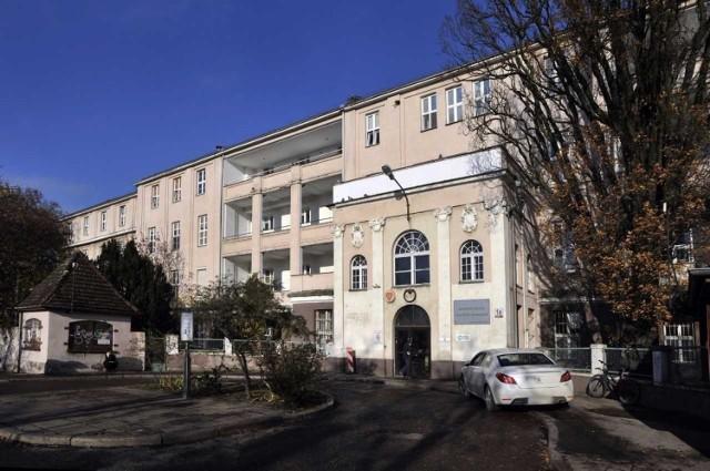 Budynek szpitala przy ul. Klinicznej w Gdańsku