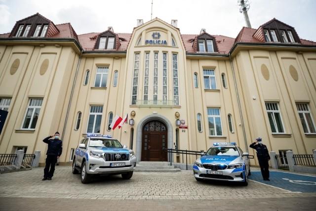 Policjanci z Bydgoszczy uczcili pamięć swojego kolegi z Raciborza, mł. asp. Michała Kędzierskiego.