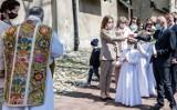 Olkusz. Pierwsza komunia święta w bazylice św. Andrzeja w plenerze [ZDJĘCIA]  [AKTUALIZACJA]
