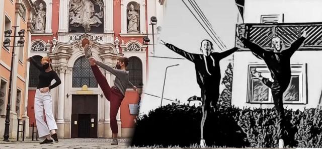Tancerze Opery Nova oraz zespoły taneczne Pałacu Młodzieży z okazji Międzynarodowego Dnia Tańca przygotowali filmiki wideo.