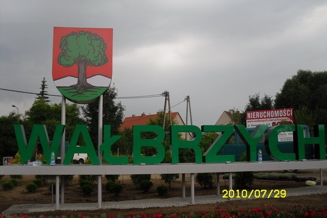 Witacz - na wjeździe do Wałbrzycha