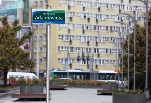 Plac Adamowicza w Szczecinie