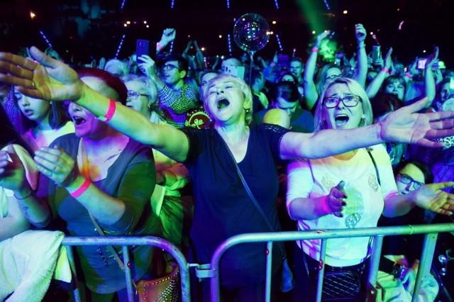 Tak publiczność bawiła się na gali disco polo w Zielonej Górze