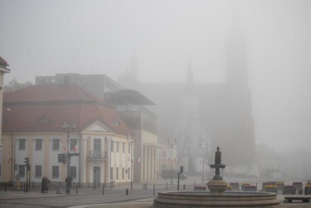 Mgła w Białymstoku - 10.11.2020