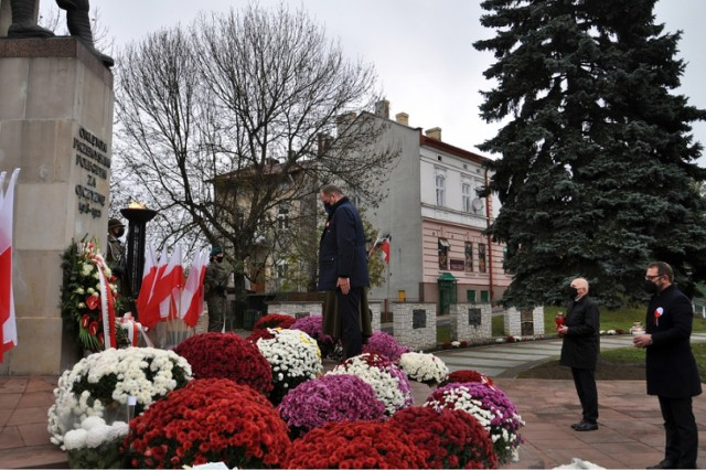 Skromniejsze niż zazwyczaj obchody w Przemyślu  102. rocznicy odzyskania przez Polskę niepodległości.