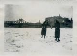 Jak dawniej wyglądała zima w Krośnie Odrzańskim? Bardzo stare zdjęcia miasta pokrytego śniegiem