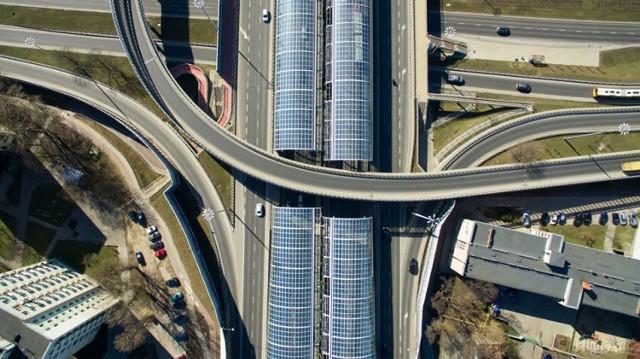 Warszawa z drona. Tak wygląda miasto z lotu ptaka!