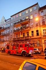 Wrocław: Pożar na Piastowskiej, mieszkańcy ewakuowani (ZDJĘCIA)