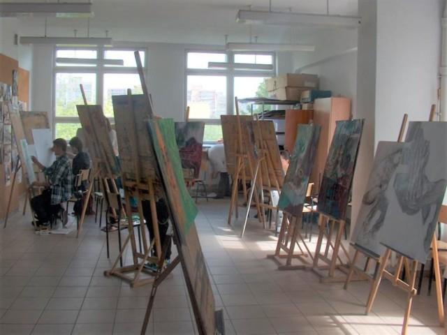 W Zespole Szkół Informatycznych w Słupsku działa m.in. Liceum Plastyczne.