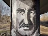 Krzysztof Krawczyk ma swój mural w Gorzowie! Powstał na jednym z Filarów Sztuki