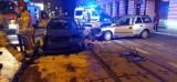 Pijany Ukrainiec spowodował wypadek w centrum Łodzi. Dwie osoby zostały ranne