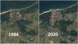 Jak zmieniała się Ustka przez lata? Zobacz zdjęcia Google Earth