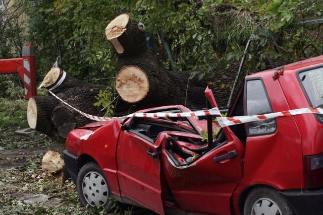 Wichura na Dolnym Śląsku może być niebezpieczna
