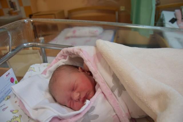 Martynka urodziła się w Nowy Rok 10 minut po północy