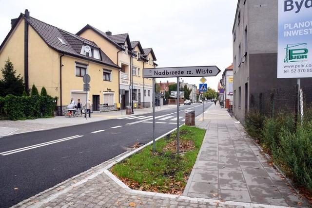 Trwa rewitalizacja Starego Fordonu w Bydgoszczy.