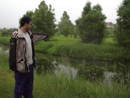 Dla Mirosława Stępnia ważne są przyrodnicze walory Wylewów.